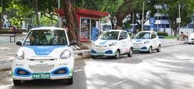 Fortaleza aposta em carros elétricos e bicicletas para frear poluição