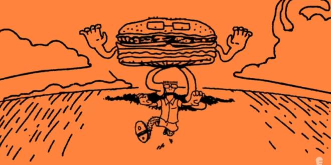 Descendents lança animação que alerta sobre o perigo das comidas gordurosas