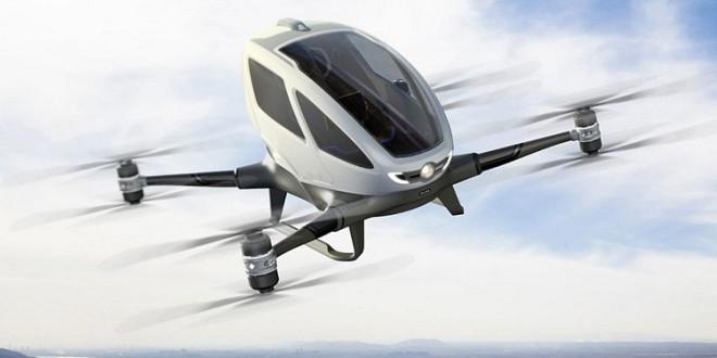 Dubai autorizará voos de drone tripulável a partir de julho