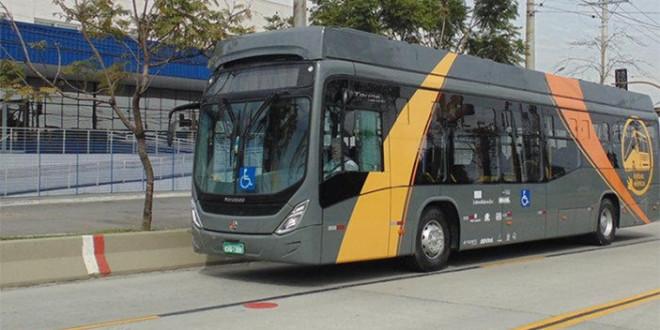 Primeiro ônibus brasileiro movido a energia solar entrará em operação em SC