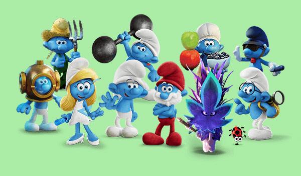 Smurfs entram na campanha dos Objetivos Globais para o Desenvolvimento Sustentável