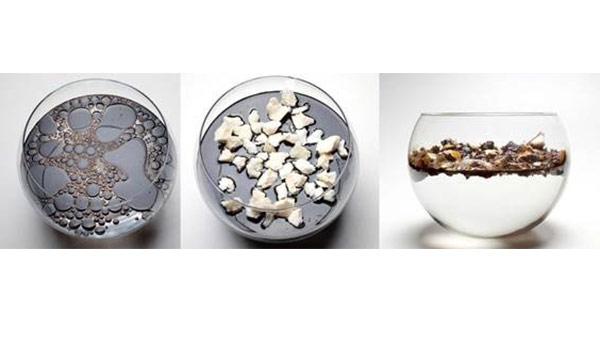 Polímero orgânico desenvolvido por empresa brasileira absorve óleo da água