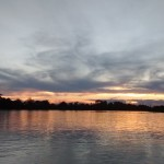 Por do sol no rio Paraguai, em Cáceres, Mato Grosso/WWF-Brasil