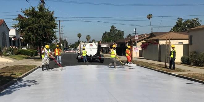 Aquecimento global: Los Angeles pinta suas ruas para aliviar calor