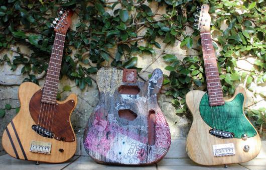 Eco Guitar: luthieria brasileira que fabrica instrumentos sustentáveis