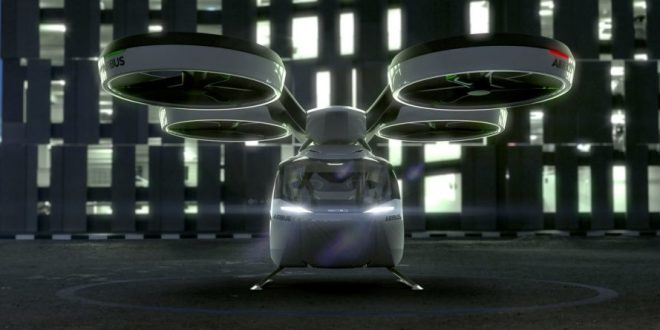 Airbus finaliza fase inicial de testes com nave urbana