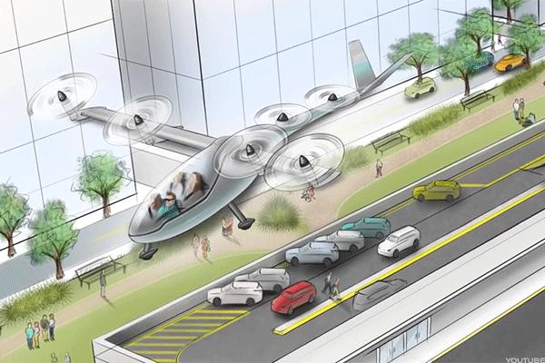 Uber: serviço de táxi voador deverá ter início em 2020