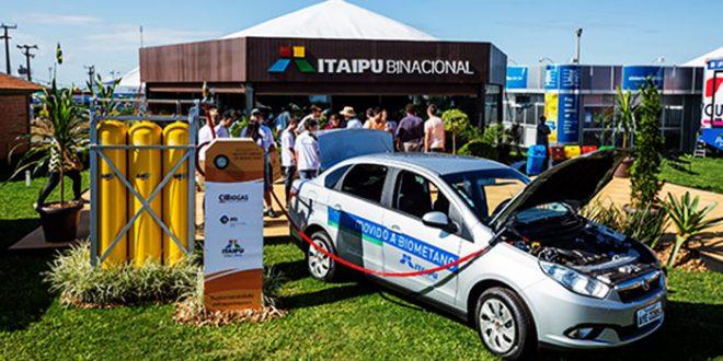 Itaipu passa a produzir gás biometano para veículos não poluentes