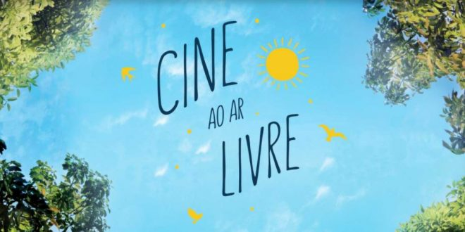 Praça Ayrton Senna recebe seu primeiro Cine ao Ar Livre