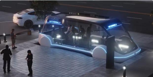 Projeto de rede subterrânea de ônibus elétricos mostra como será o metrô do futuro