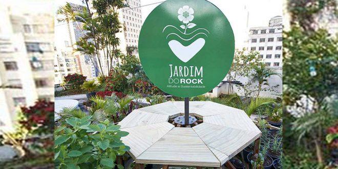 Jardim do Rock oferece curso gratuito de Agricultura Urbana