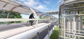 Arquitetos apresentam projeto de ciclovia fechada