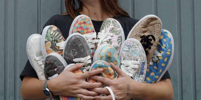 Empresa gaúcha lança tênis de papel ultrarresistente