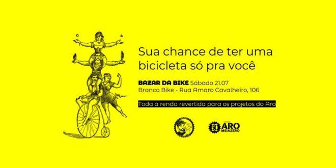 Aromeiazero promove venda de bicicletas doadas