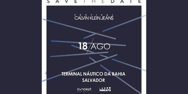 Calvin Klein Jeans anuncia segunda edição de seu festival de música no nordeste