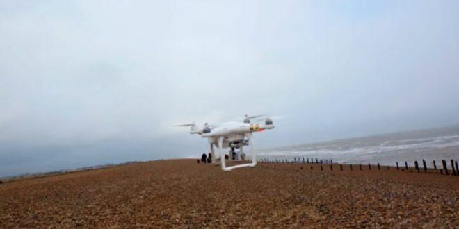 Drones auxiliam em projeto de coleta de lixo nos oceanos