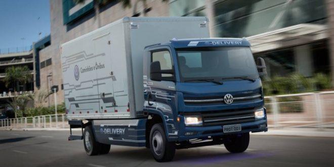 Volkswagen anuncia primeiro caminhão elétrico brasileiro