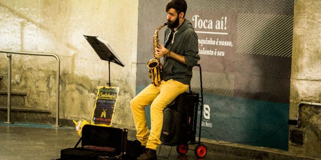 Mais espaço para músicos de rua em São Paulo