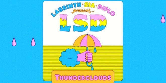 """Sia libera """"Thundercloud"""", nova música do LSD – com Diplo e Labrinth"""