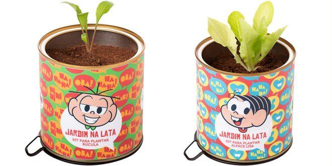 Turma da Mônica lança vasinhos que estimulam fácil plantio