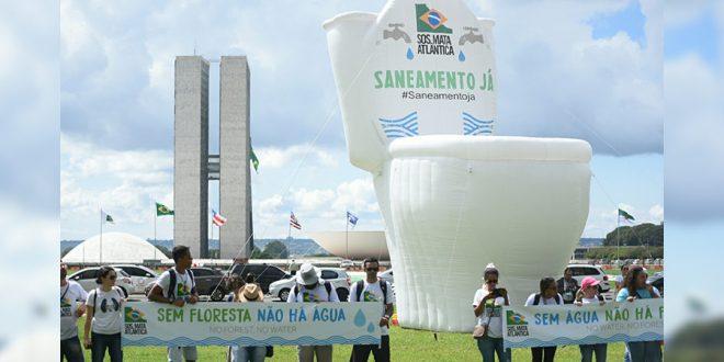 """""""Privadão"""" e """"Jacaré Teimoso"""" chamam atenção para importância da água na agenda estratégica brasileira"""