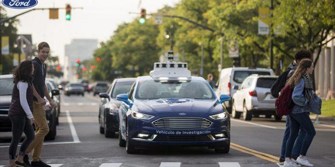 Ford testa futuros padrões de sinais para carros autônomos