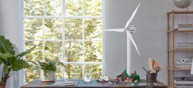 Lego anuncia conjunto montável de turbinas eólicas com peças feitas de plantas